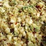 Couscous med feta og avocado