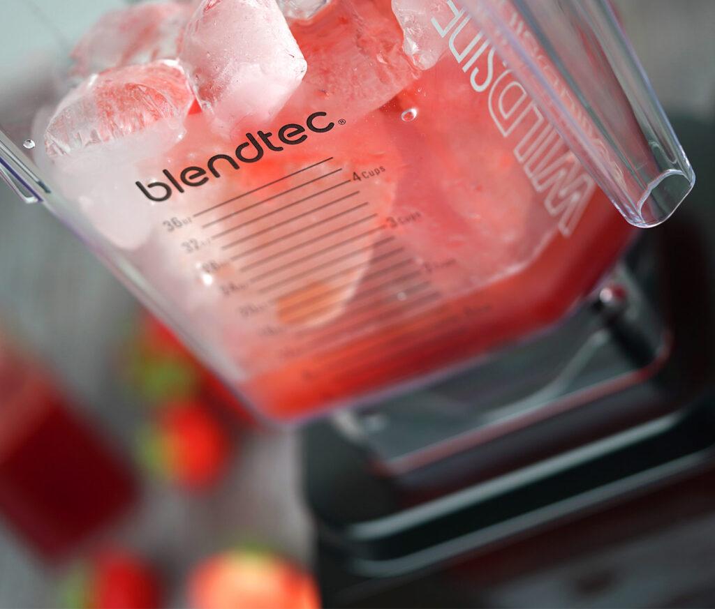 Blende is og rose til frosé