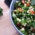 Libanesisk salat Tabbouleh