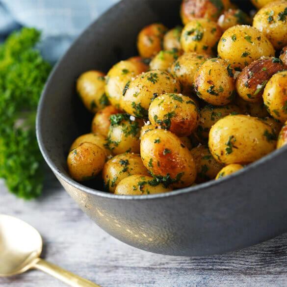 Smørstegte kartofler