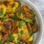 Kartofler i ovn med gremolata