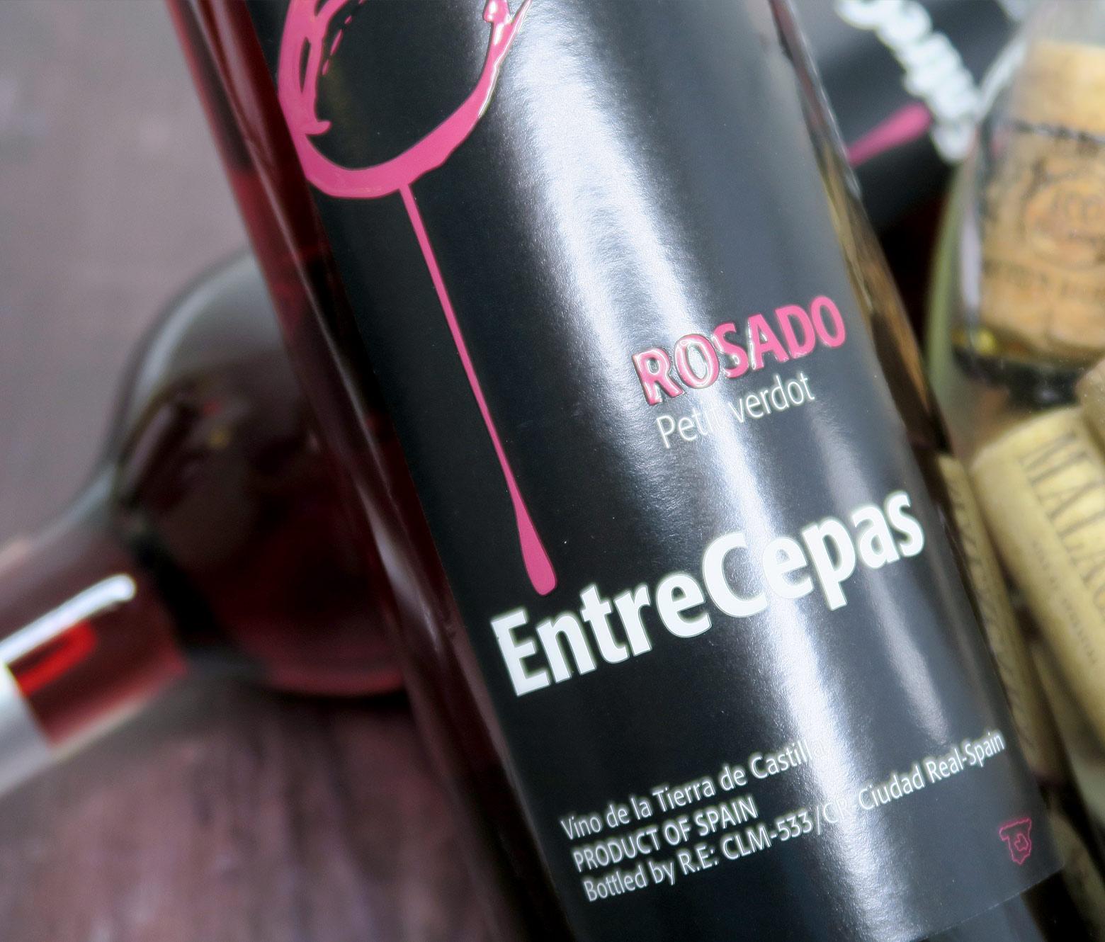 Entrecepas Petit Verdot Rosado 2019