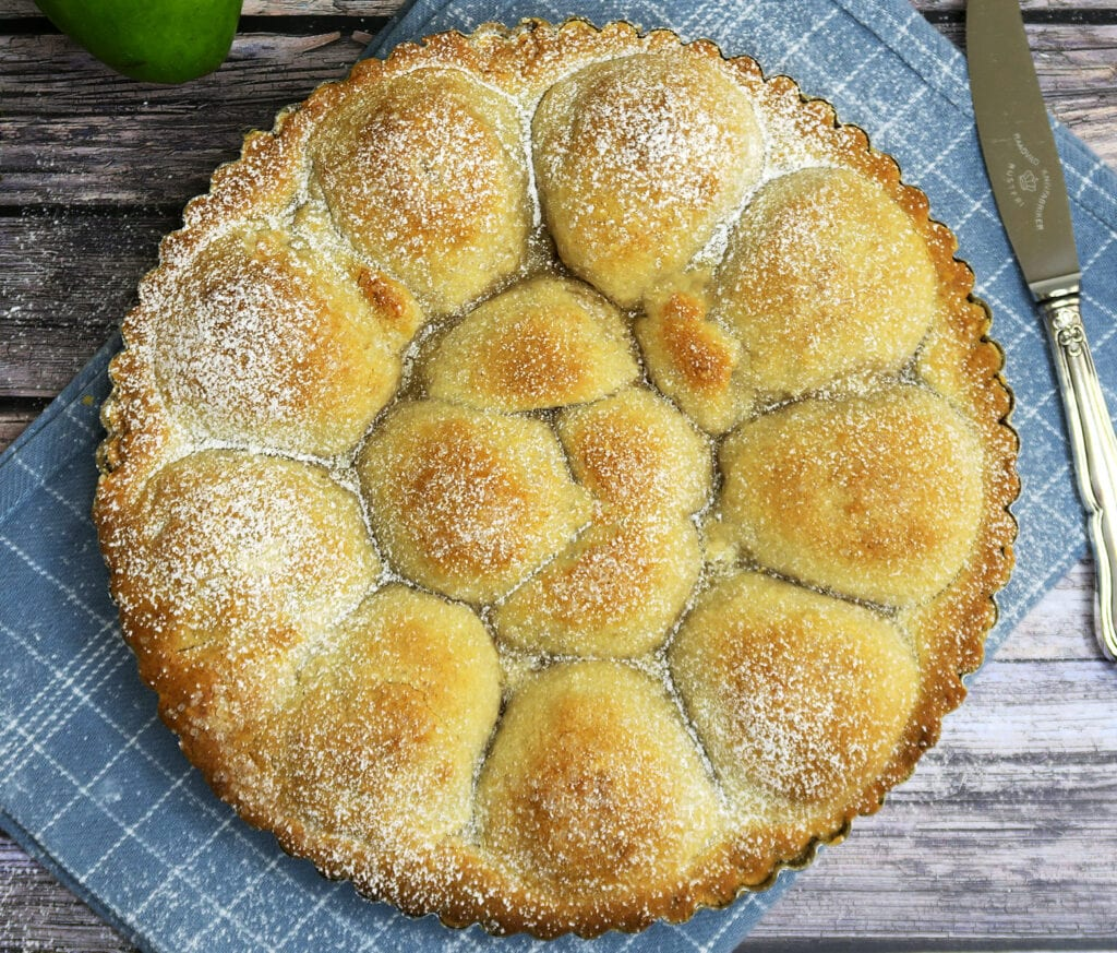 gammeldags pæretærte