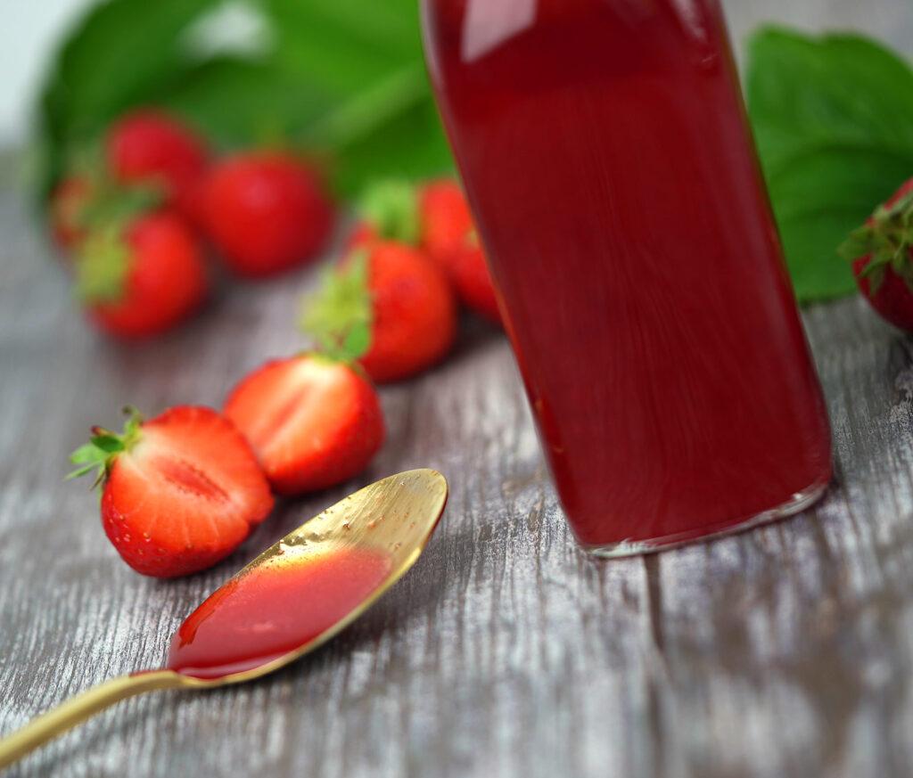 Jordbærsirup