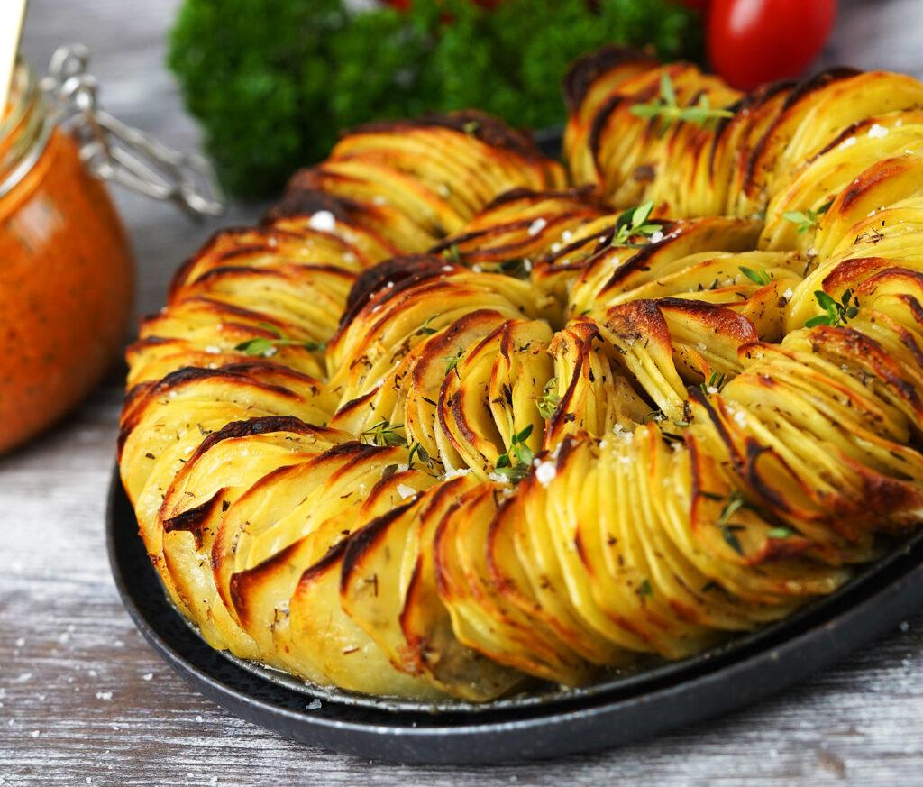 Ratatouille af kartofler